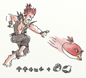 Akuma + Angry Bird